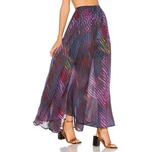 FP True To You Maxi Skirt High-Waisted Flowy Long